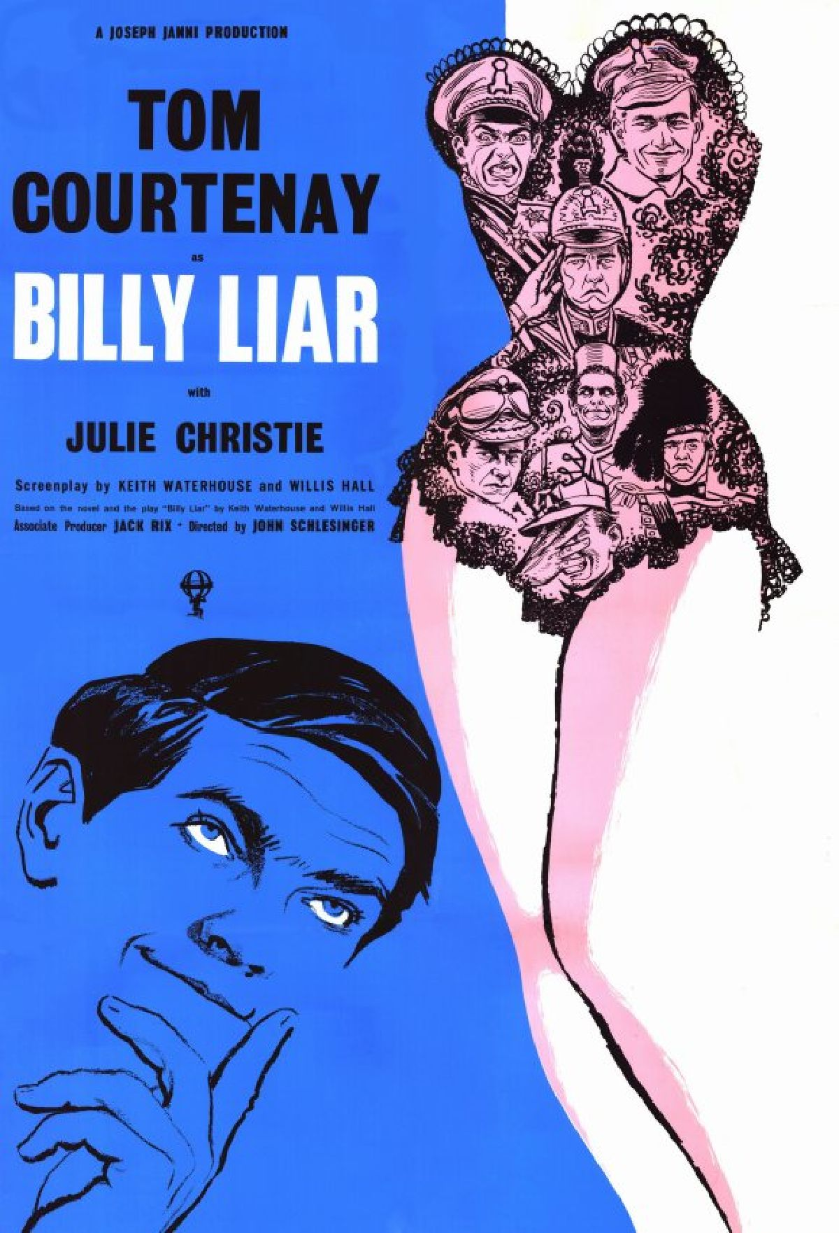 'Billy Liar' movie poster