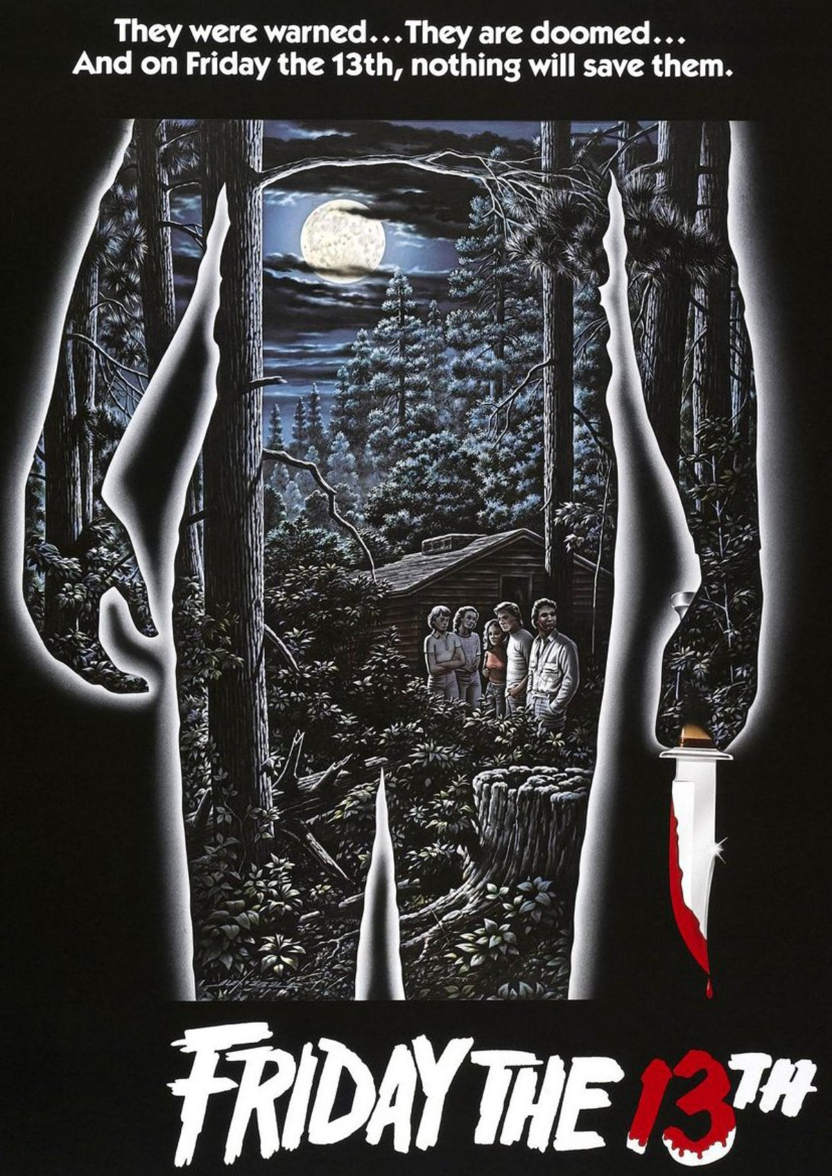 'Friday the 13th' movie poster