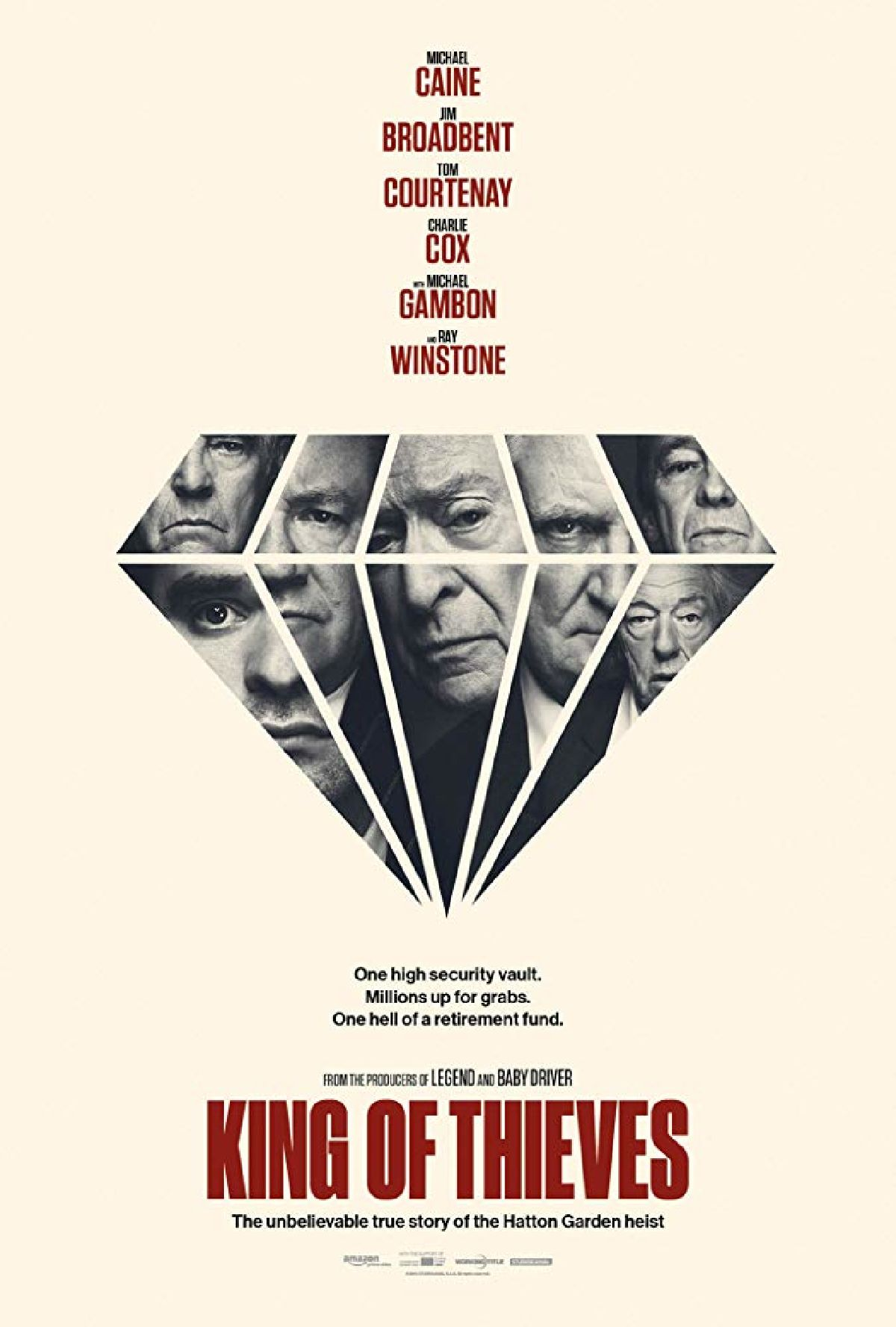 'King Of Thieves' movie poster
