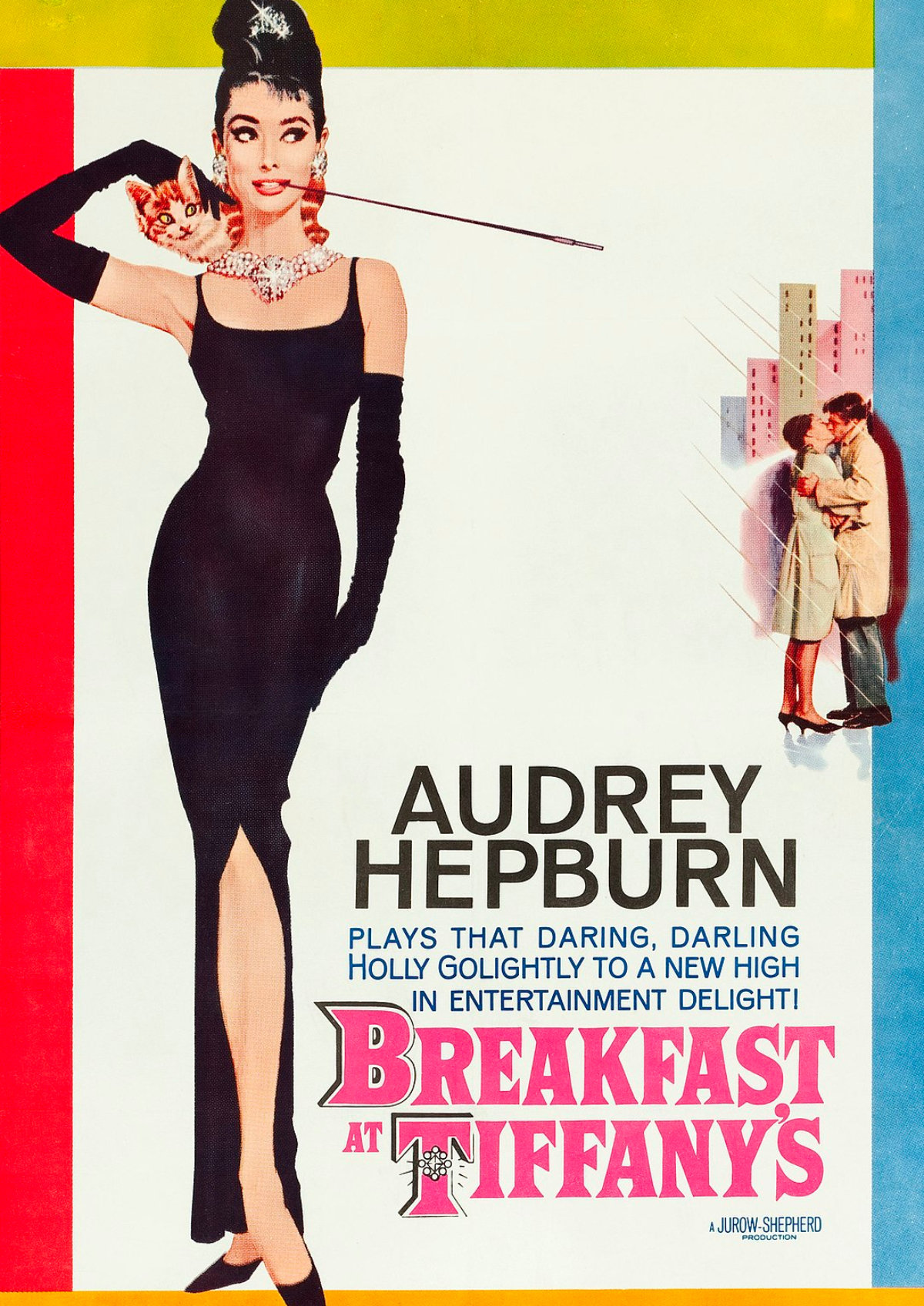 'Breakfast at Tiffany's' movie poster