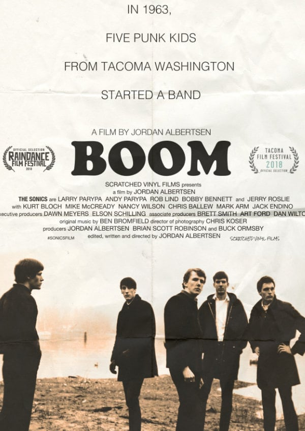 'Boom' movie poster
