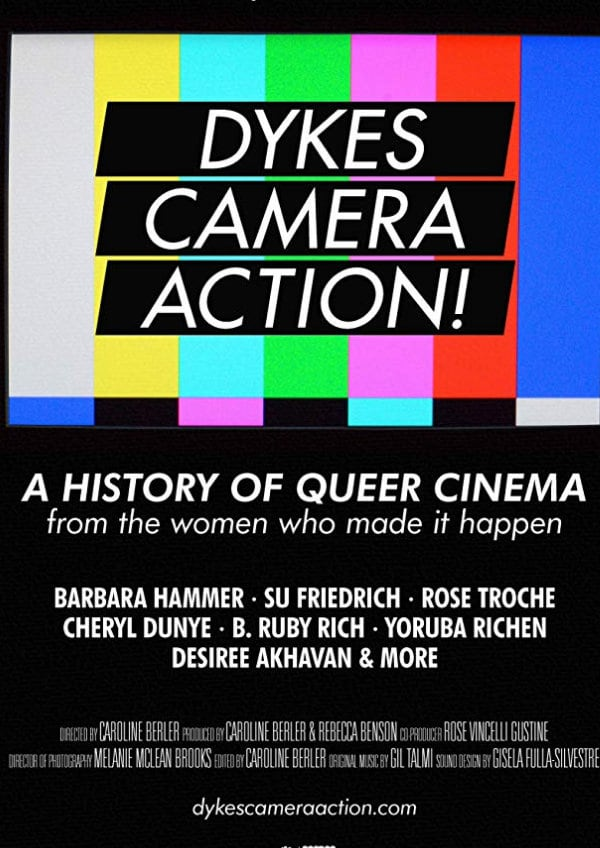 'Dykes, Camera, Action!' movie poster