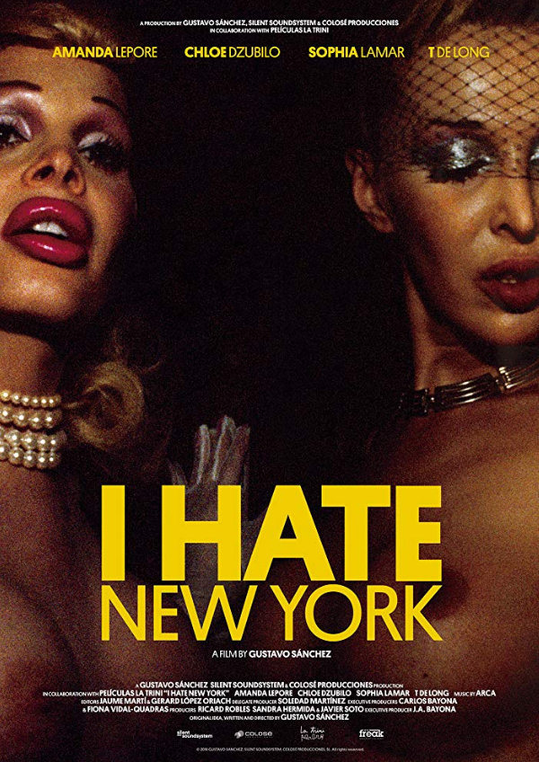 'I Hate New York' movie poster