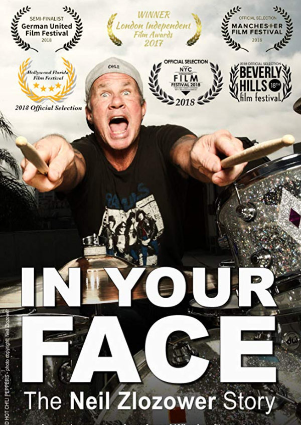'In Your Face: The Neil Zlozower Story' movie poster