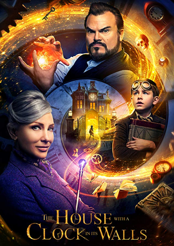 'The House With A Clock In Its Walls' movie poster