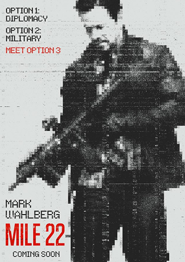 'Mile 22' movie poster