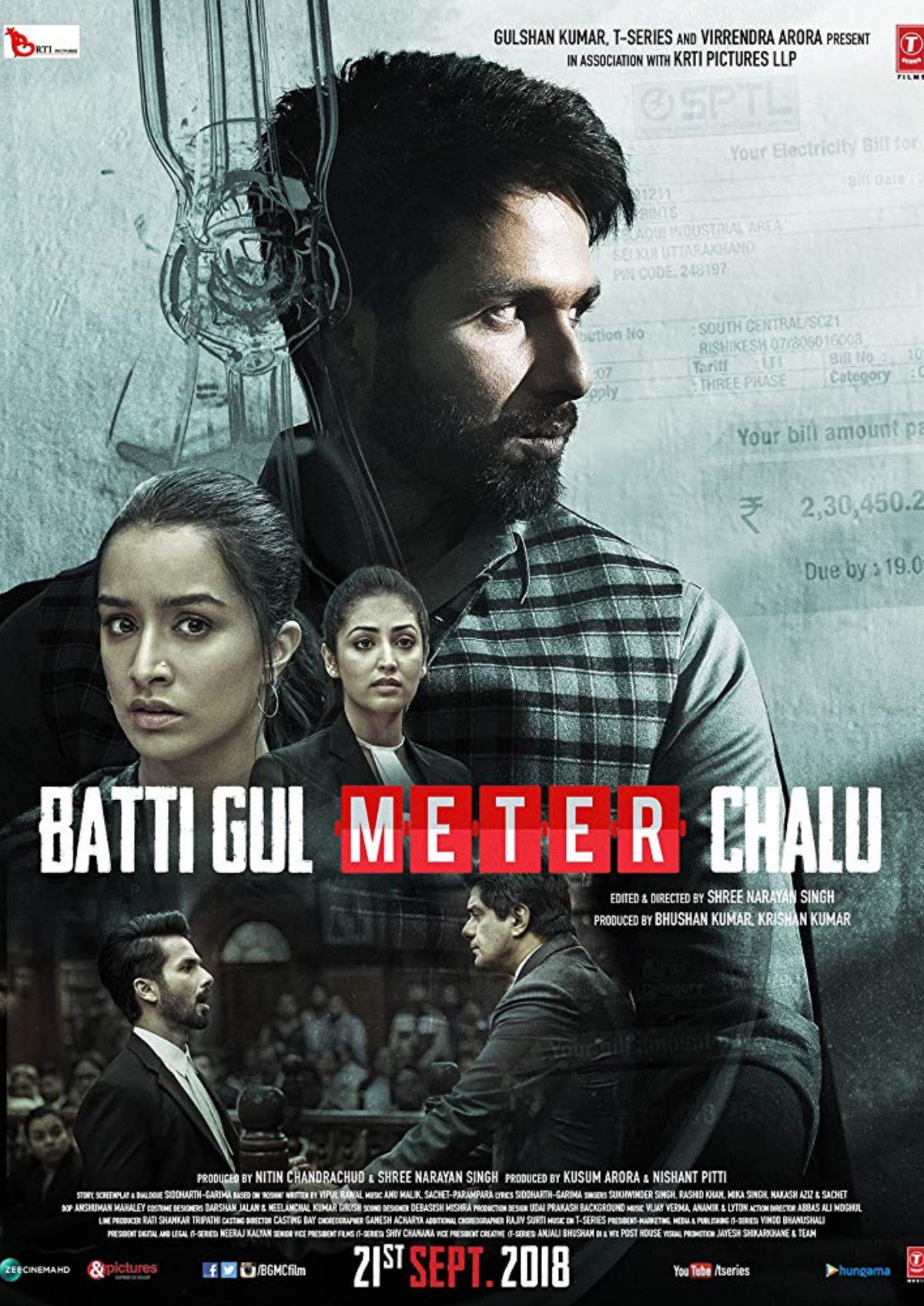 'Batti Gul Meter Chalu' movie poster