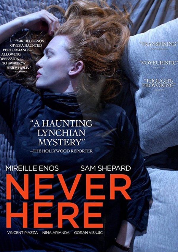 'Never Here' movie poster