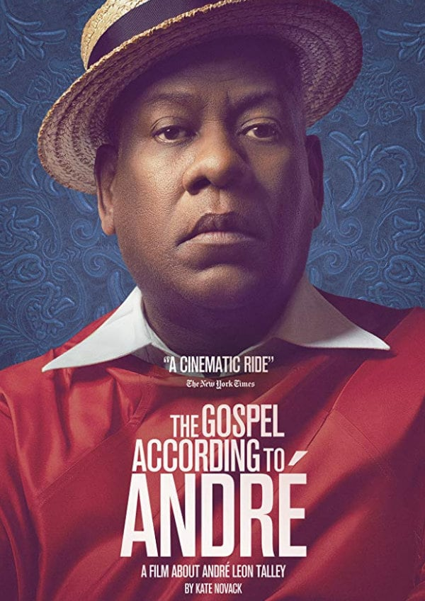 'The Gospel According To Andre' movie poster