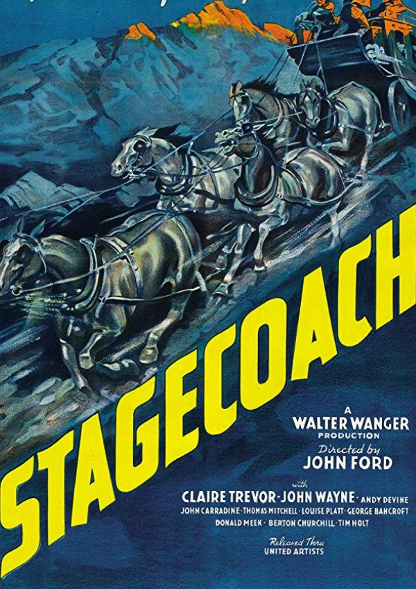 'Stagecoach' movie poster