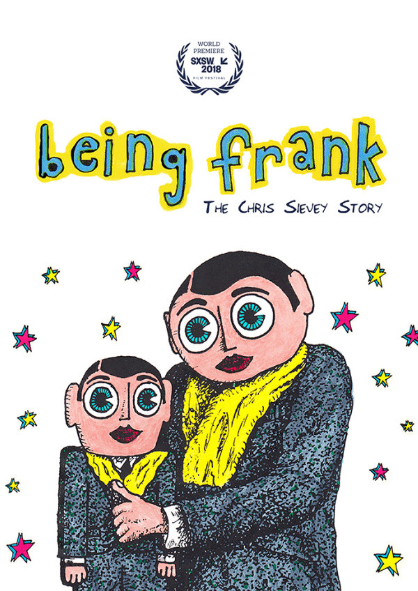 'Being Frank: The Chris Sievey Story' movie poster