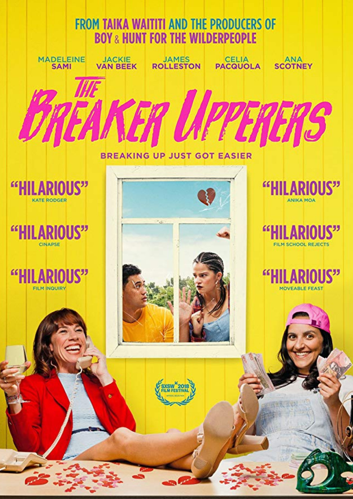 'The Breaker Upperers' movie poster