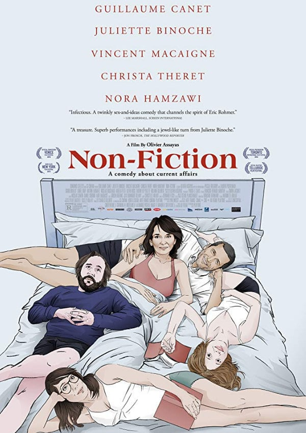 'Non-Fiction (Doubles Vies)' movie poster