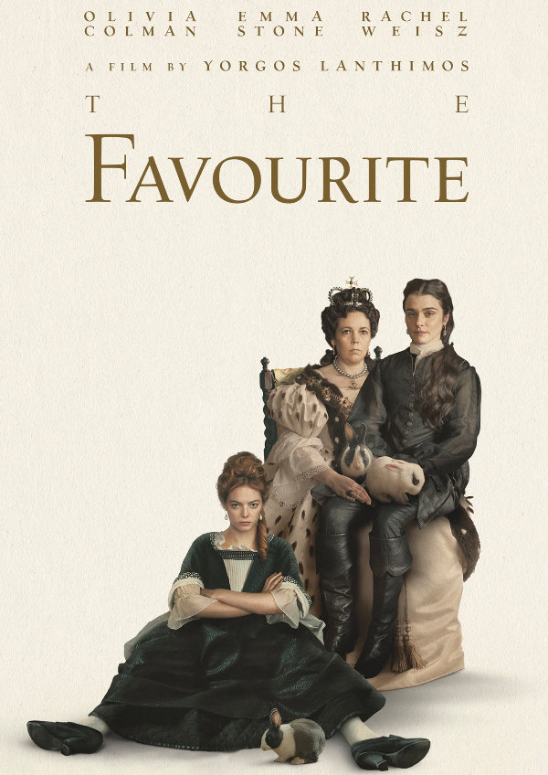 'The Favourite' movie poster