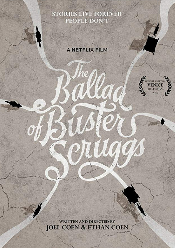 'The Ballad of Buster Scruggs' movie poster