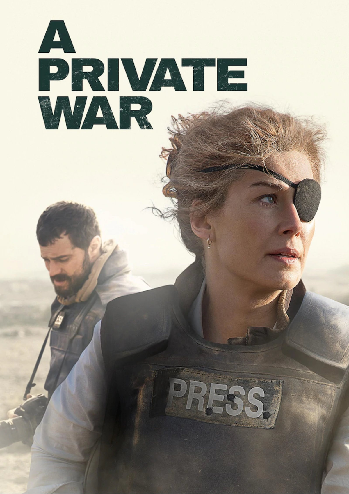 'A Private War' movie poster