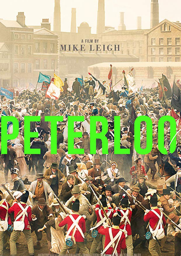 'Peterloo' movie poster