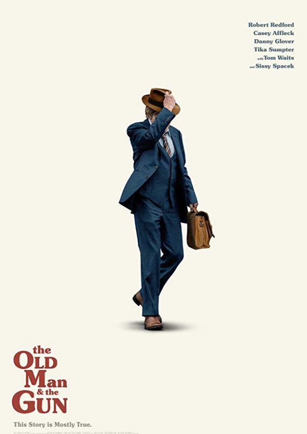 'The Old Man & The Gun' movie poster