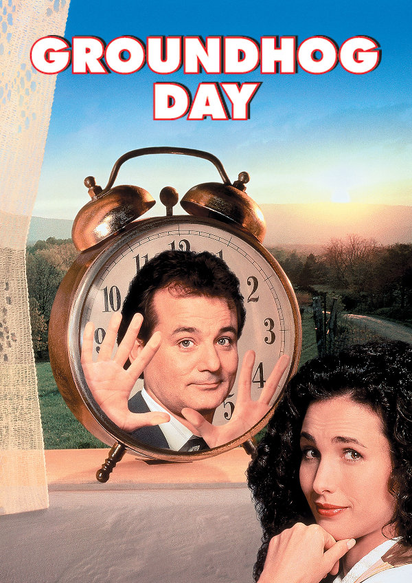 'Groundhog Day' movie poster