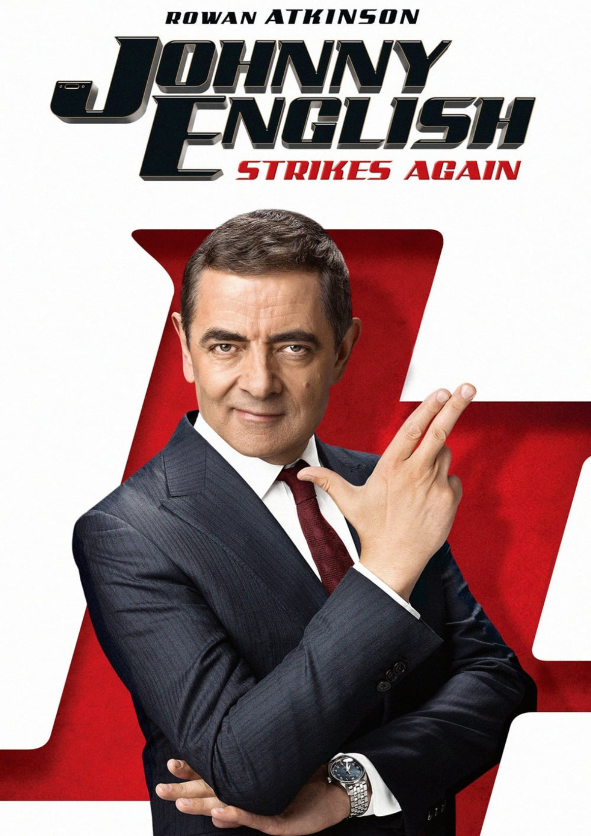 'Johnny English Strikes Again' movie poster