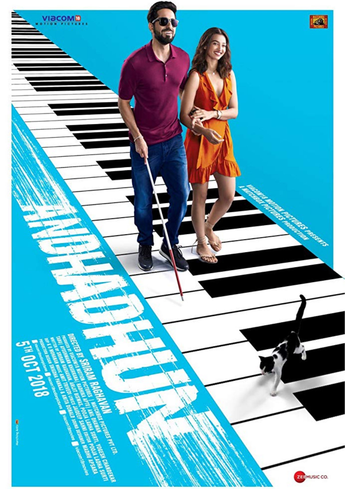 'Andhadhun' movie poster