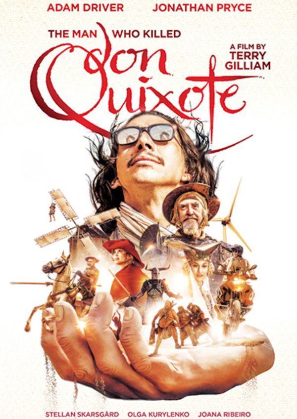 'The Man Who Killed Don Quixote' movie poster