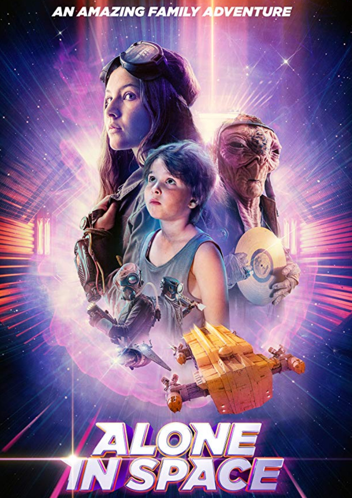'Alone In Space' movie poster