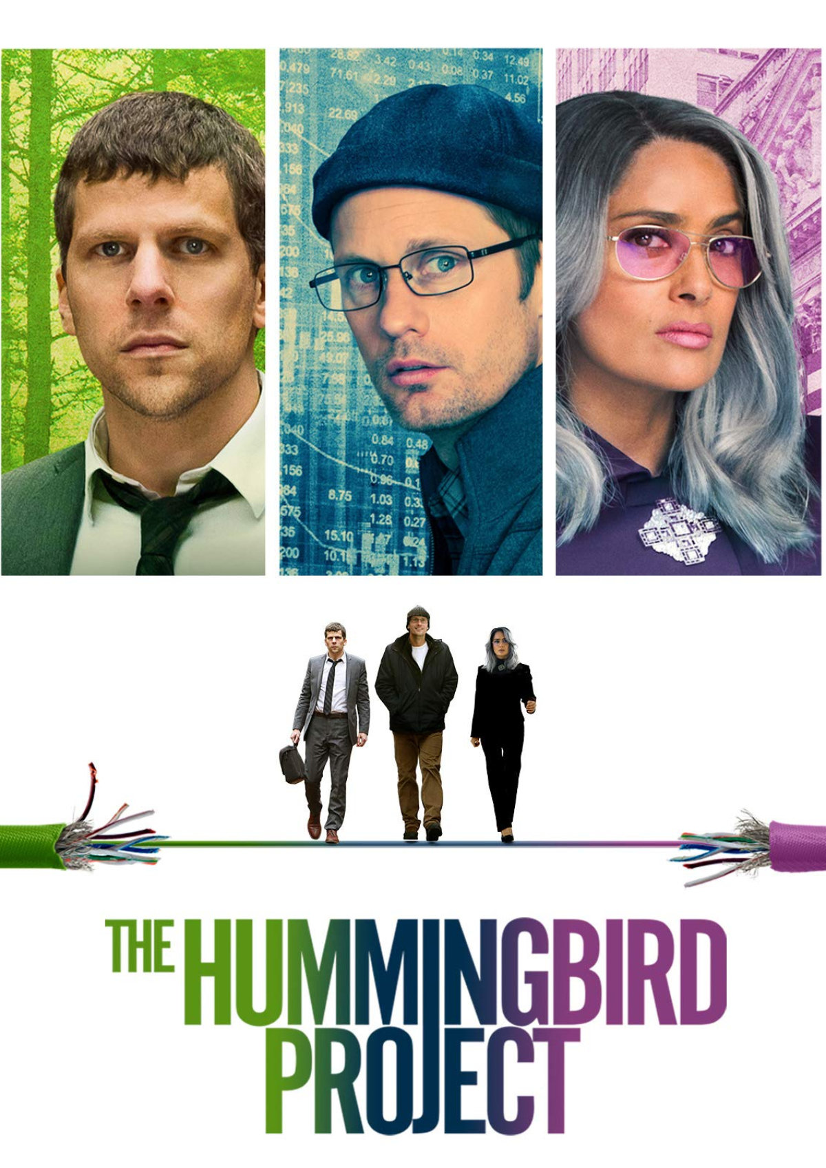 'The Hummingbird Project' movie poster