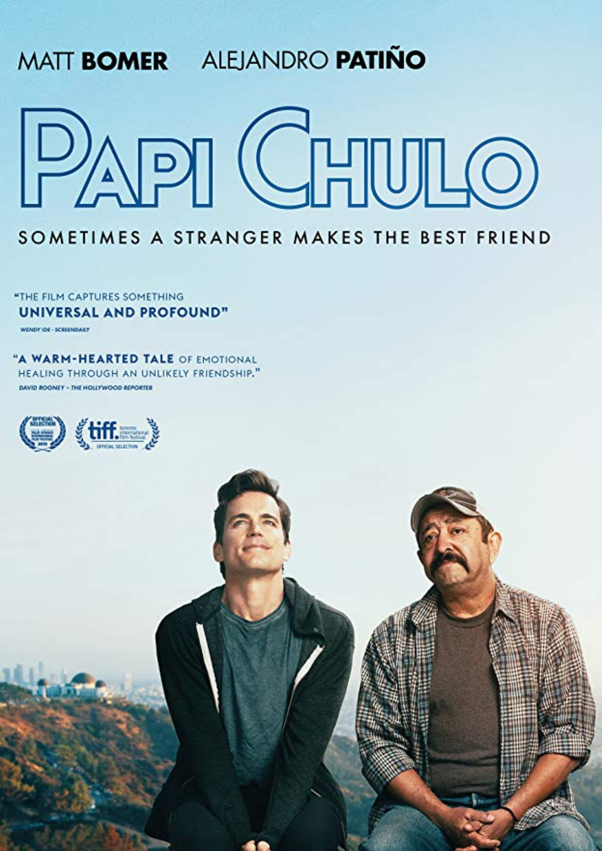 'Papi Chulo' movie poster