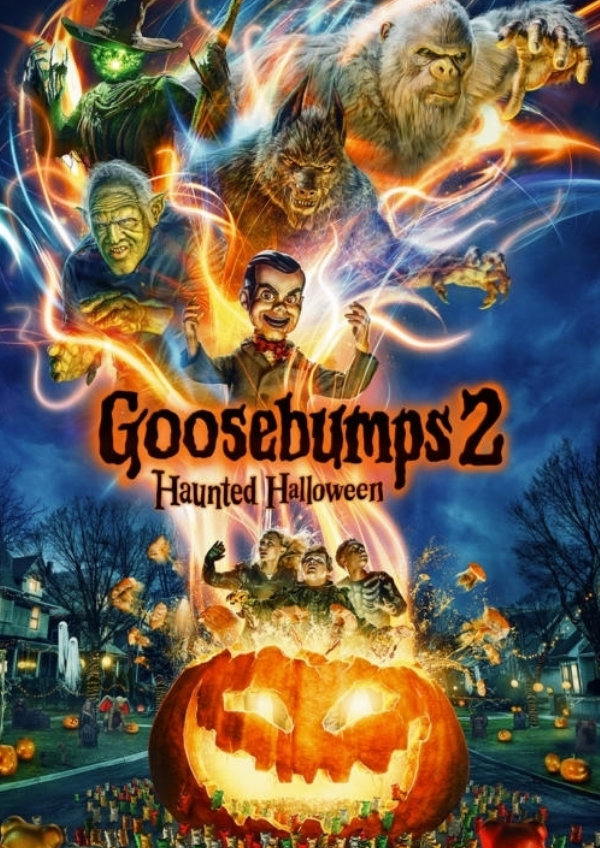 'Goosebumps 2: Haunted Halloween' movie poster