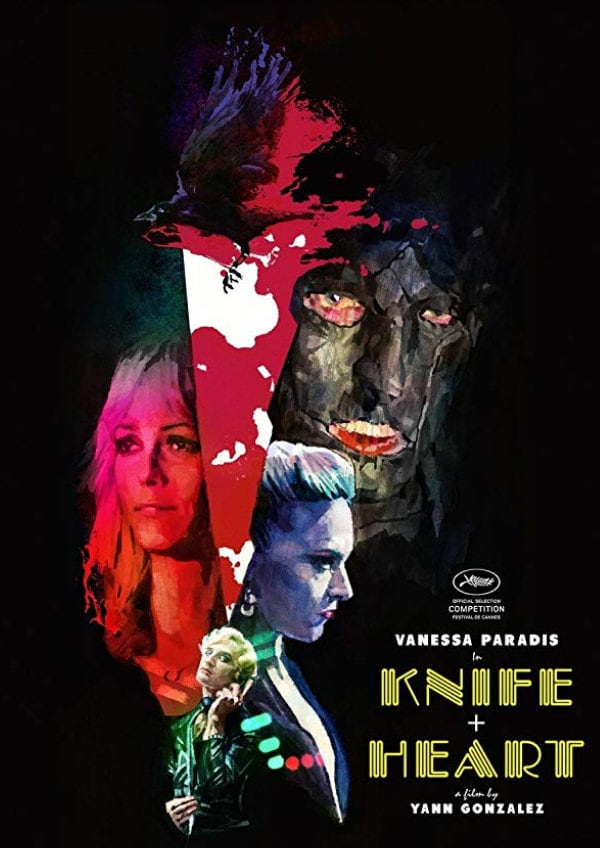 'Knife + Heart' movie poster