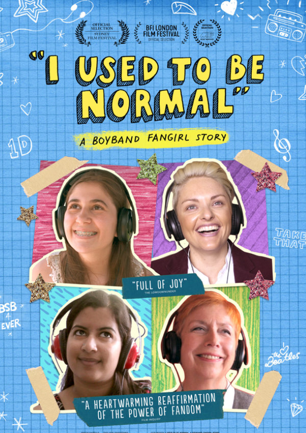 'I Used To Be Normal: A Boyband Fangirl Story' movie poster