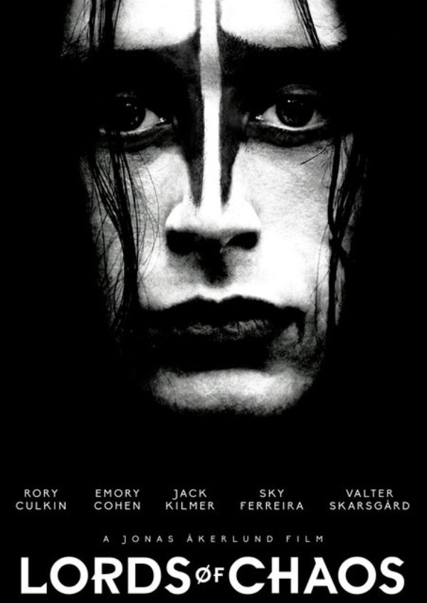 'Lords of Chaos' movie poster