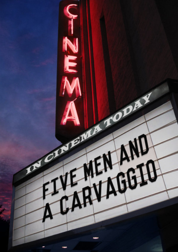 'Five Men And A Carvaggio' movie poster