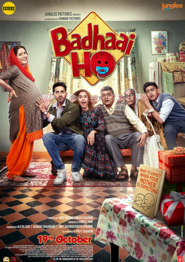 'Badhaai Ho' movie poster
