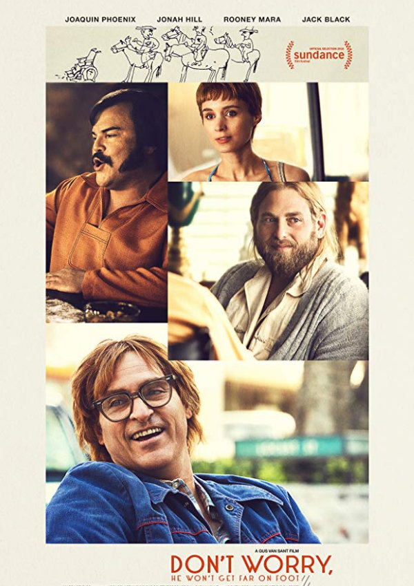 'Don't Worry, He Won't Get Far On Foot' movie poster