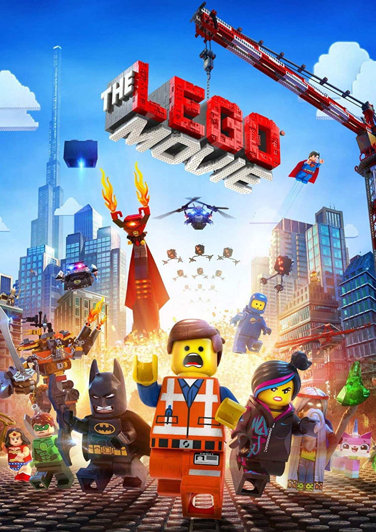 'The Lego Movie' movie poster
