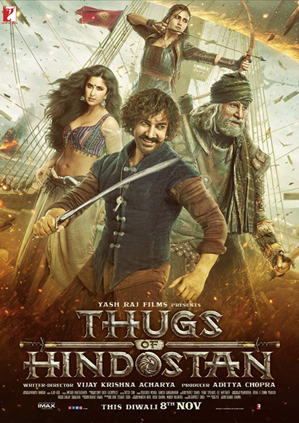 'Thugs Of Hindostan' movie poster