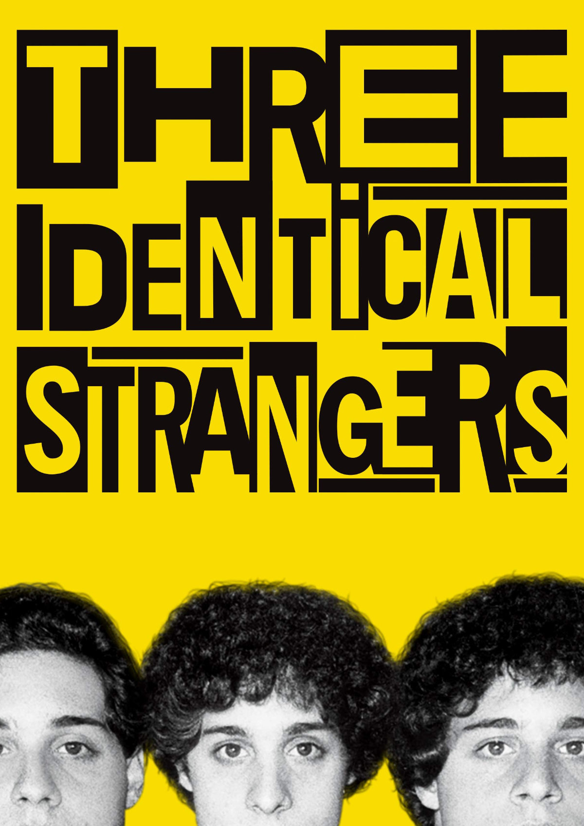 'Three Identical Strangers' movie poster