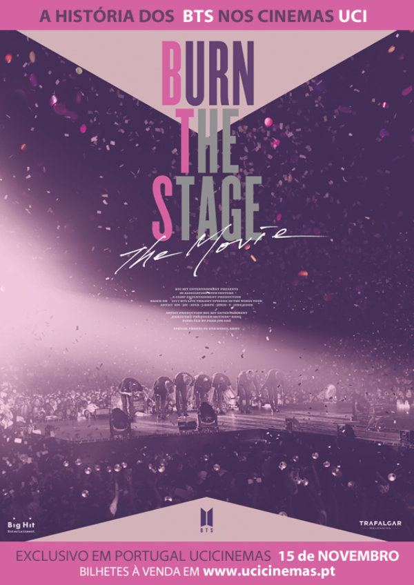 'Burn The Stage: The Movie' movie poster