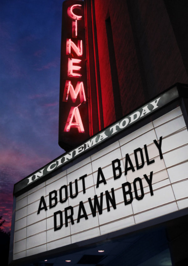 'About A Badly Drawn Boy' movie poster