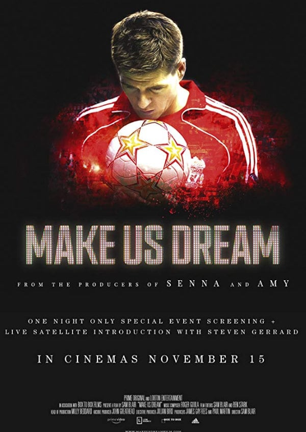 'Make Us Dream' movie poster
