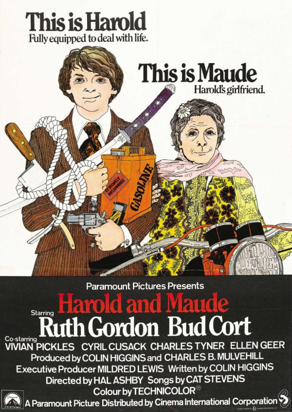 Poster for 'Harold and Maude'