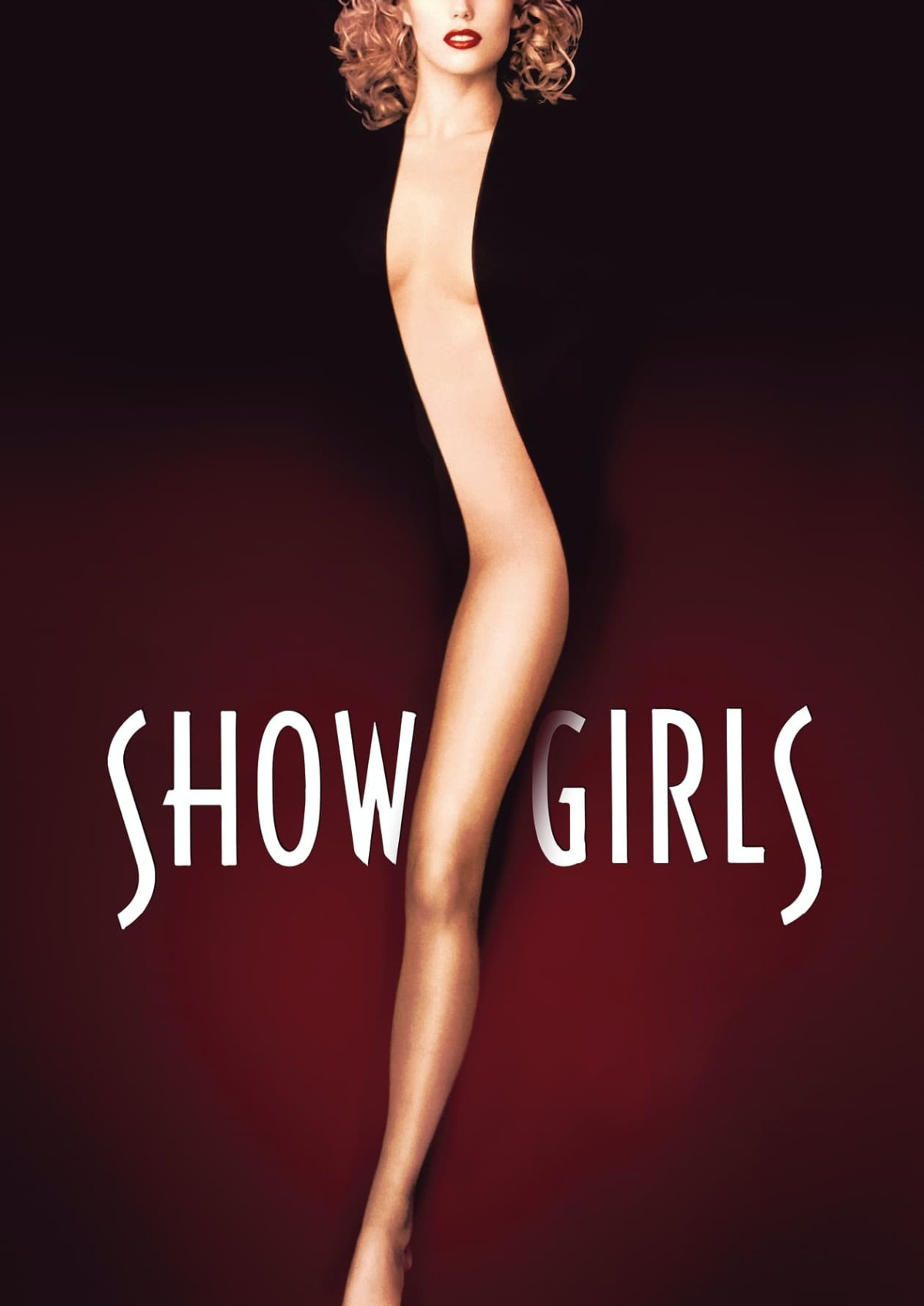 'Showgirls' movie poster