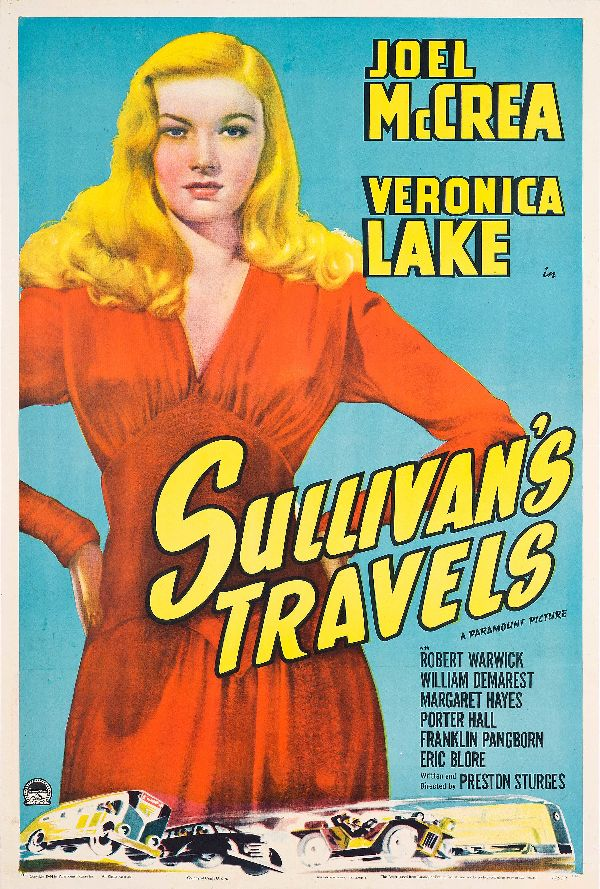 'Sullivan's Travels' movie poster