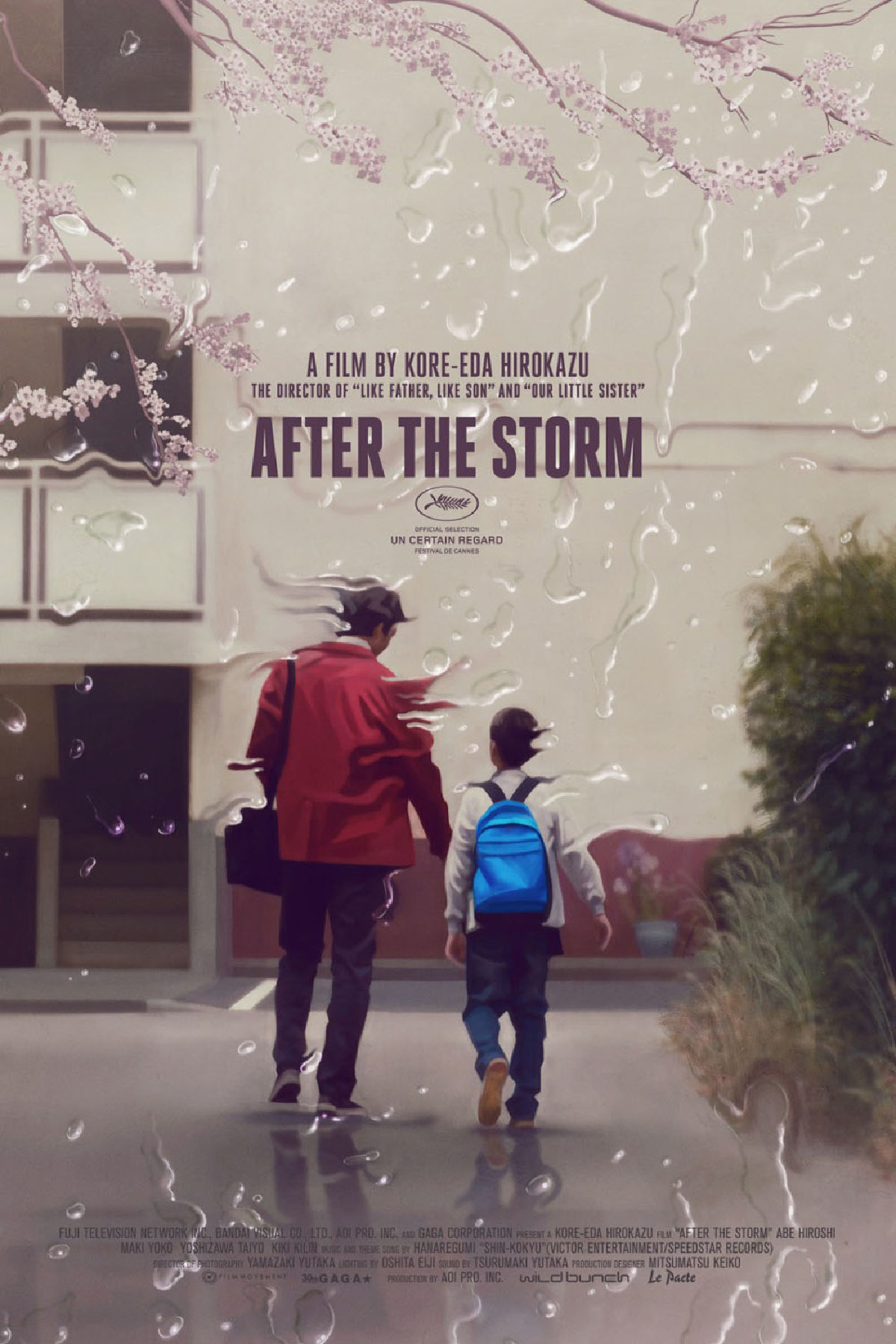 'After the Storm' movie poster