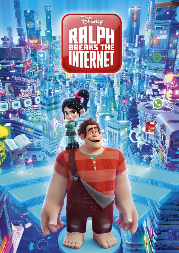 'Ralph Breaks The Internet' movie poster