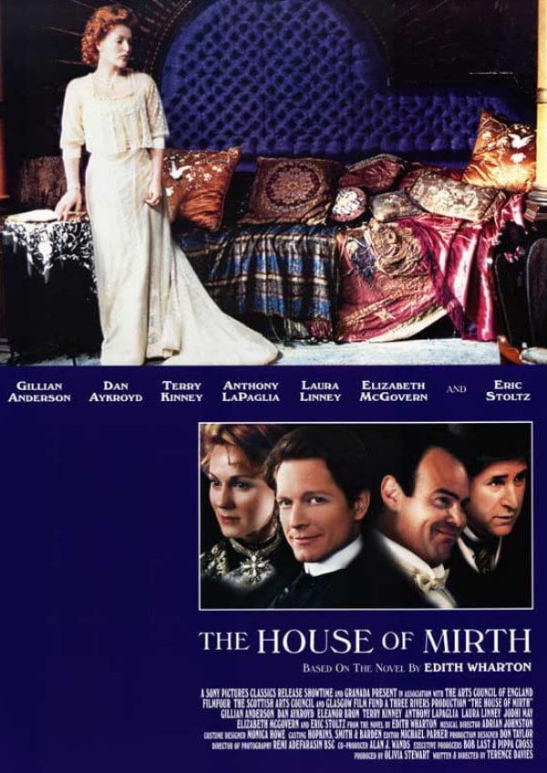 'The House Of Mirth' movie poster