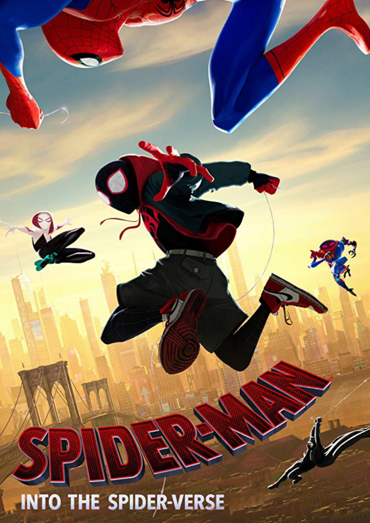 'Spider-Man: Into The Spider-Verse' movie poster