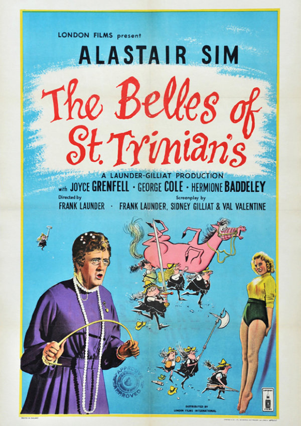 'The Belles Of St Trinians' movie poster